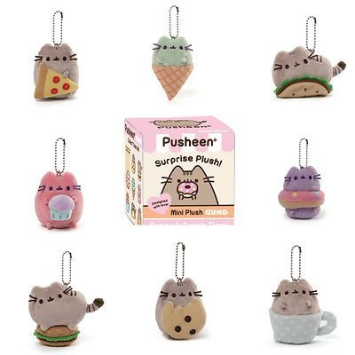 Gund Pusheen Blind Box Series #1 Surprise Plush, 3