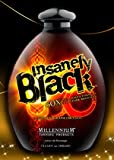 Millenium Tanning Insanely Black Ultra Dark Bronzer Tanning Lotion Beyond Blaque, 60x, 13.5-Ounce