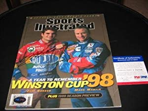 Jeff Gordon Nascar Psa dna Signed Sports Illustrated - Autographed NASCAR Magazines by Sports Memorabilia