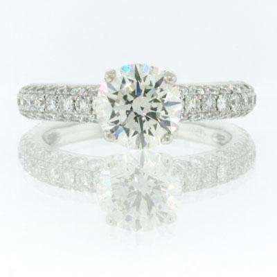 2.78ct Round Brilliant Cut Diamond Engagement