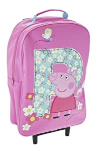 Trade Mark Collections P is for Peppa Pig Wheeled Bag from Trade Mark Collections