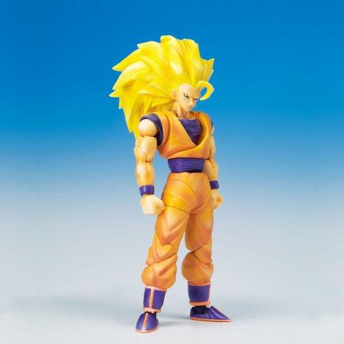 Dragonball Z BanDai 4 Inch Hybrid Action Figure Super Saiyan 3 (SS3) Goku (japan import)