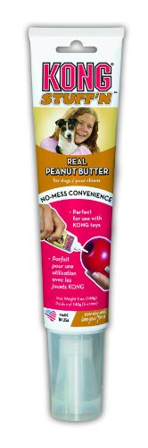 picture KONG Real Peanut Butter Dog Treat, 5-ounces