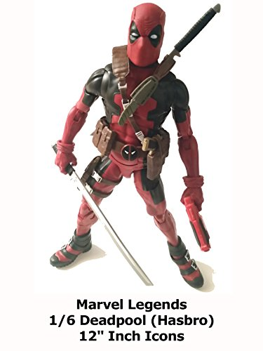 "Review: Marvel Legends 1/6 Deadpool (Hasbro) 12"" Inch Icons"