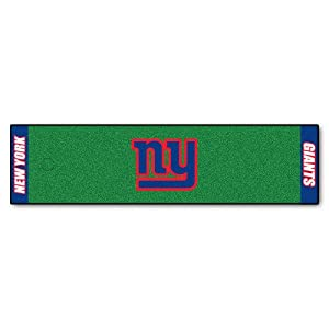 FANMATS NFL New York Giants Nylon Face Putting Green Mat
