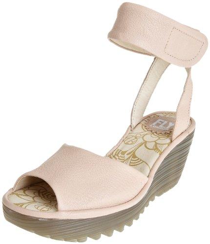 Fly London Women's Yula Cream Wedge Heel P500204000 8 UK