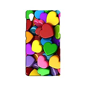 BLUEDIO Designer 3D Printed Back case cover for Sony Xperia Z1 - G2538