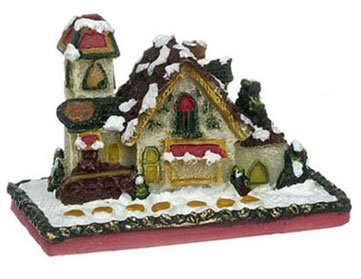 Dollhouse 1 IN GINGERBREAD HOUSE - 1