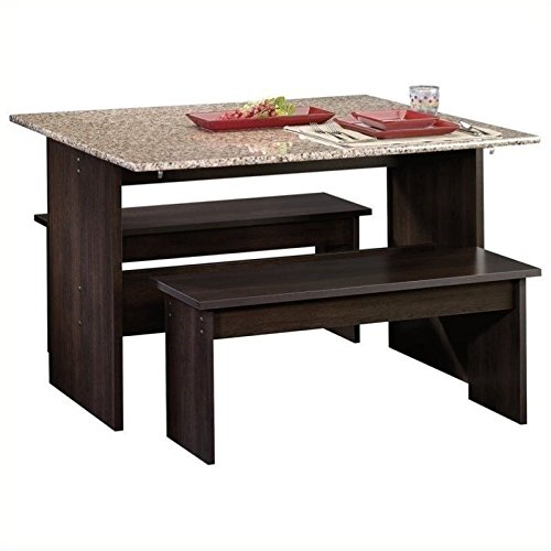 sauder-beginnings-table-with-benches-cinnamon-cherry
