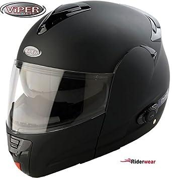Moto Casque Bluetooth Viper V131 Modulaire Casque Scooter Casque