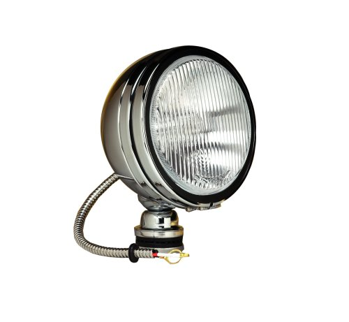 Kc Hilites 1686 Daylighter Chrome 100W Single Fog Light With Cover