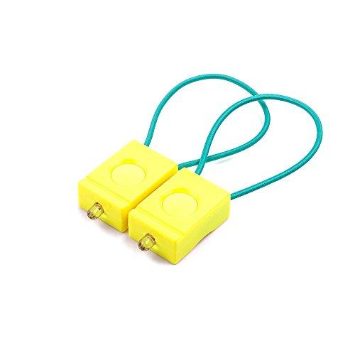 BOOKMAN Fahrradlicht, Set (neon gelb)