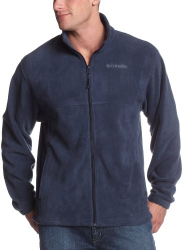 Columbia Men's Steens Mountain Full Zip Fleece Jacket, Columbia Navy, 2XT