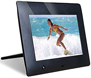 NIX 7 Inch Hu-Motion Digital Photo Frame - X07E. Motion Sensor for Auto On/Off & Hi Res 800 x 480 Screen