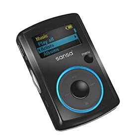Sandisk Sansa Clip 4 GB MP3 Player (Black)