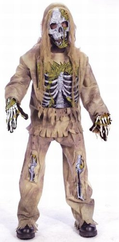 Boys Skeleton Zombie Costume