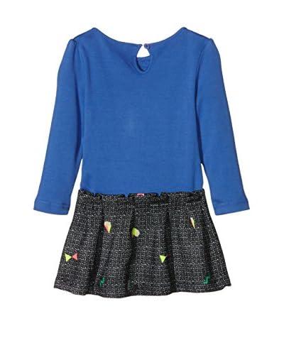 Billieblush Vestido Azul Royal / Negro