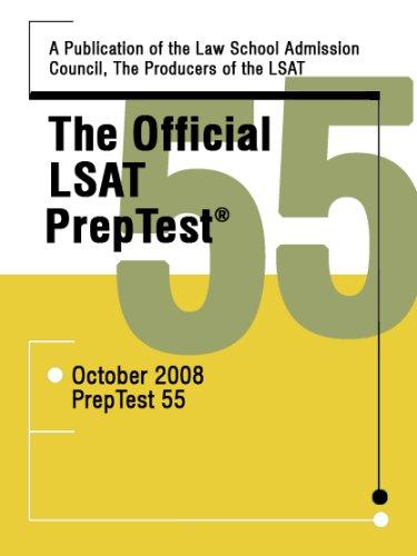 The Official LSAT Preptest 55