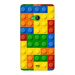Toy Design Print Back Case Cover for Lumia 535