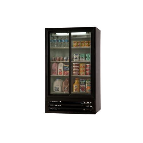 Beverage Air LV17-1-B-54 LumaVue Refrigerated Merchandiser