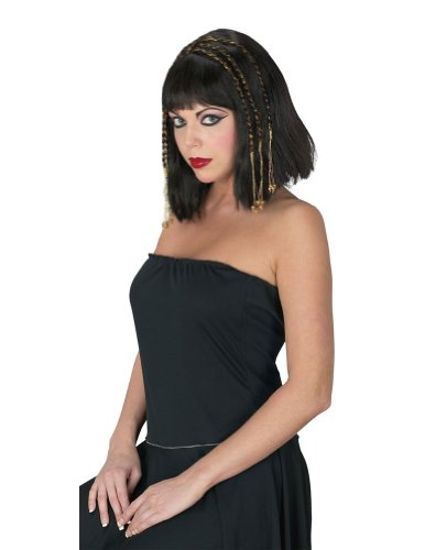 Costume-Wig Egyptian Queen Wig Halloween Costume - 1 size