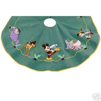 Affordable Disney Store World Of Disney Christmas Tree Skirt With