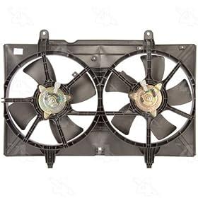 Four Seasons 75609 Radiator Fan Motor Assembly