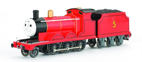 Bachmann Trains Thomas And Friends - James The Red Engine With Moving Eyes (Electric Engines compare prices)
