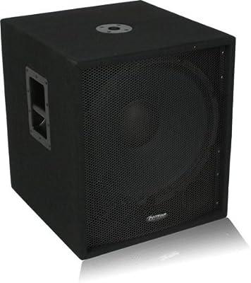 "Patron PROSUB-6000 Single 18"" PRO Series DJ Subwoofer System"