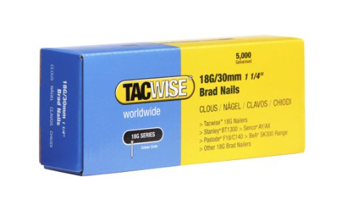 Tacwise 0397 18G/ 30mm Nails (Box of 5000)