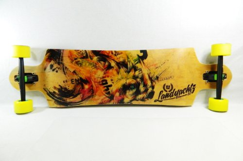 "Landyachtz 38"" X 9.8"" Switchblade 38 Downhill/Freeride Series Longboard Complete"