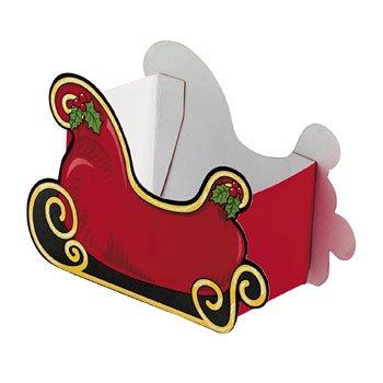 Santa Sleigh Favor Boxes (1 Dozen)