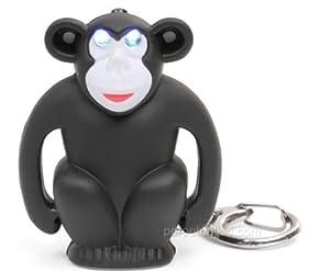Monkey LED Keychain - with Sound