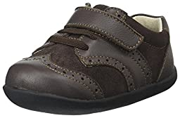 See Kai Run Clinton Wingtip (Infant/Toddler), Brown, 3 M US Infant