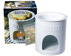 Gourmet Village Bistro Dip Warmer - White
