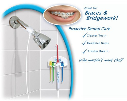 DENTAL SHOWER H2ORAL IRRIGATOR FLOSS