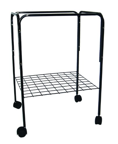 Image of YML 4924BLK Bird Cage Stand, Black (4924BLK)