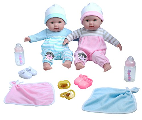 berenguer-boutique-twins-15-soft-body-baby-dolls-12-piece-gift-set-with-open-close-eyes-perfect-for-