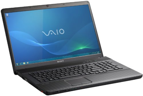 Sony Vaio EH2J1E/B 39,4 cm (15,5 Zoll) Notebook (Intel Core i3 2330M, 2,2GHz, 4GB RAM, 500GB HDD, NVIDIA 410M, DVD, Win 7 HP) schwarz