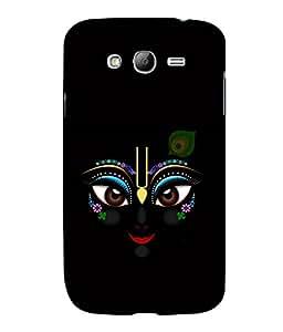 printtech Lord Krishna Beautiful Eyes Back Case Cover for Samsung Galaxy Grand i9080:::Samsung Galaxy Grand i9082
