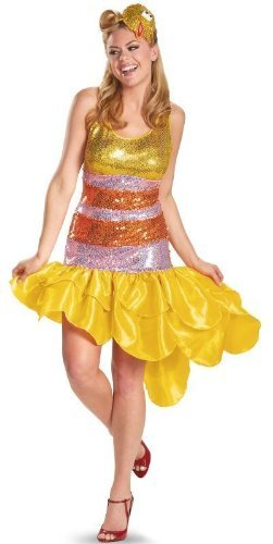 Sesame Street big Bird Glam Plus size Adult Costume