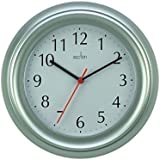 Wycombe 21417 - 225Mm Wall Clock in Silver