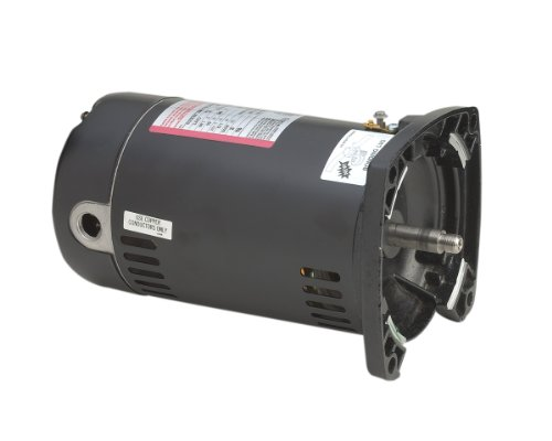A.O. Smith Usq1072 3/4 Hp, 13.4/6.7 Amps, 1.3 Service Factor, 48Y Frame, Capacitor Start, Odp Enclosure, Square Flange Pool Motor