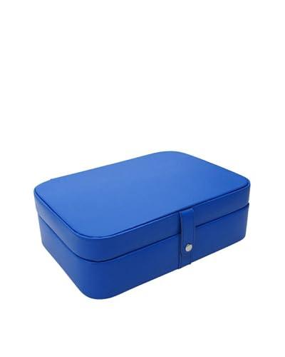 Morelle & Co. Kimberly Versatile Jewelry Box, Dazzling Blue