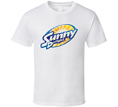 sunny-delight-beverage-cool-faded-look-t-shirt-l-white