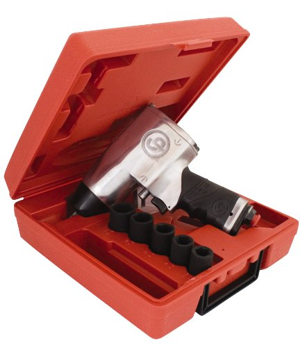 Chicago Pneumatic Cp734H 1/2-Inch Heavy Duty Air Impact Wrench Kit