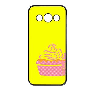 Vibhar printed case back cover for Samsung Galaxy A3 YellowCupCake