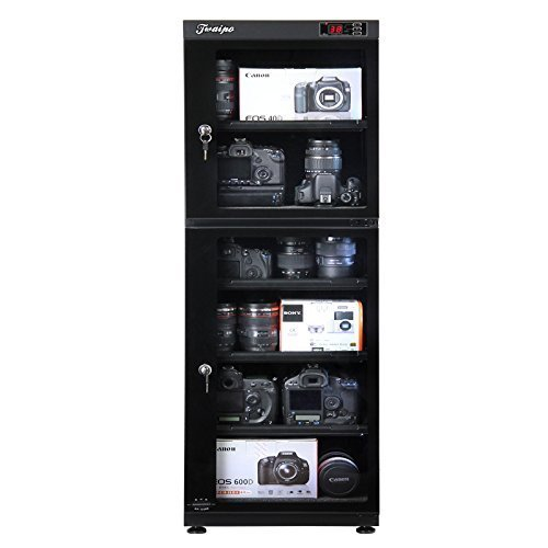Hardware Factory StoreTM 155L Digital Dehumidify Dry Cabinet Box -6 Shelf Camera & Lens anti-mold storage (Dehumidify Box compare prices)