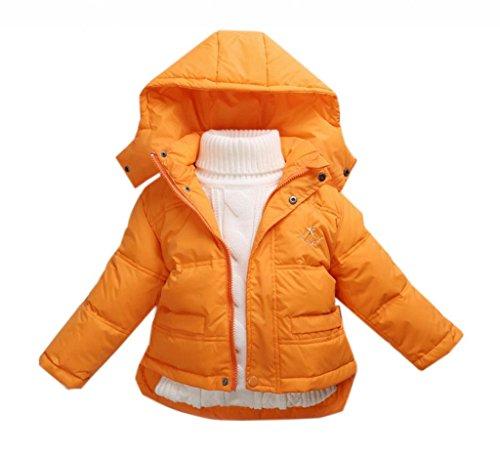 La vogue Orang Kinder Baby Daunen Mantel Jacke Winterjacke Mantel S