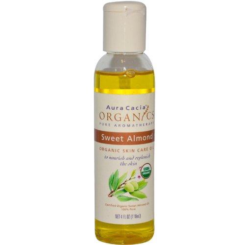 Aura Cacia, Organics Skin Care Oil Sweet Almond - 4 Fl Oz